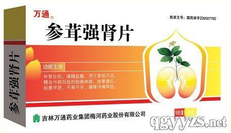 shen rong qiang shen tablets beijing jing kang pharmaceutic