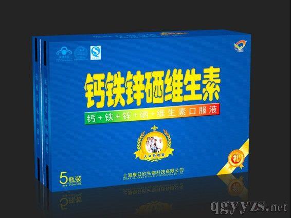 钙铁锌硒口服液(5瓶)