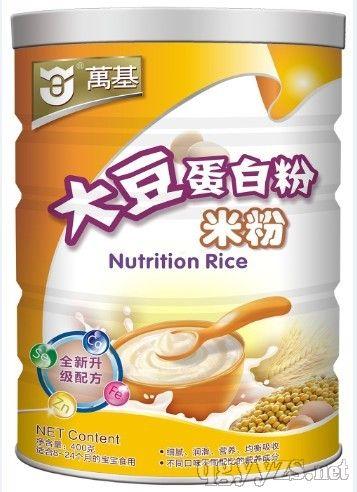 万基-大豆蛋白质米粉