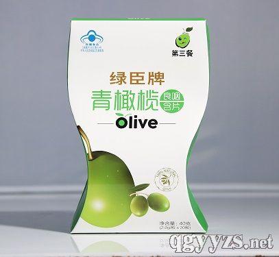 第三餐绿臣牌青橄榄良咽含片(纸盒)