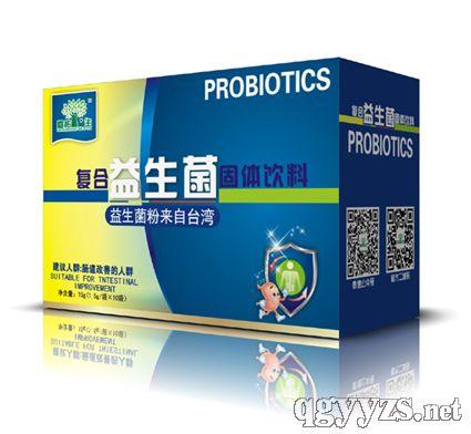 复合益生菌固体饮品