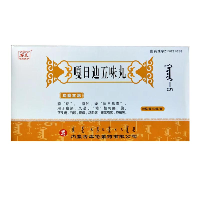 嘎日迪五味丸(风湿圣药中标产品)