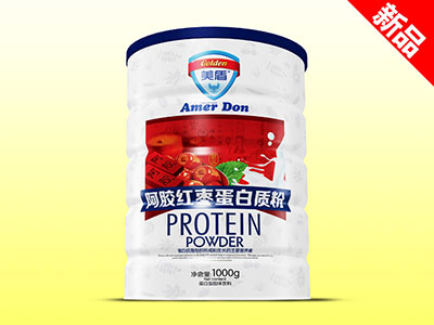 (美盾)蛋白质粉1000g铁听-阿胶红枣