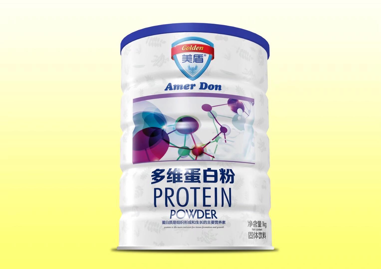 (美盾)蛋白质粉1000g铁听-免疫球