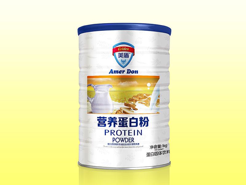 (美盾)蛋白质粉1000g铁听-全营养