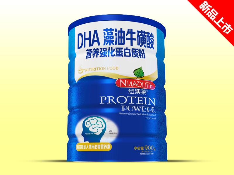 纽澳莱DHA藻油牛磺酸营养强化蛋白质粉