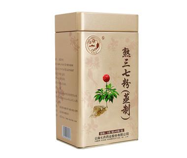 熟三七粉(蒸制)