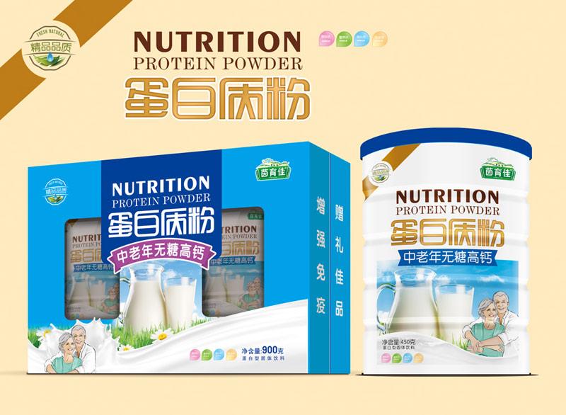 茵育佳中老年无糖高钙蛋白质粉