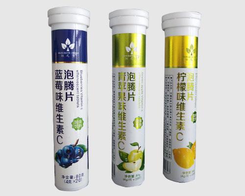 蓝莓/青苹果/柠檬味维生素C泡腾片