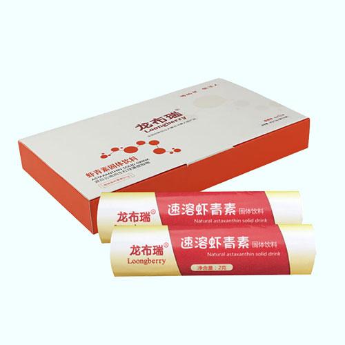 龙布瑞虾青素叶黄素固体饮料