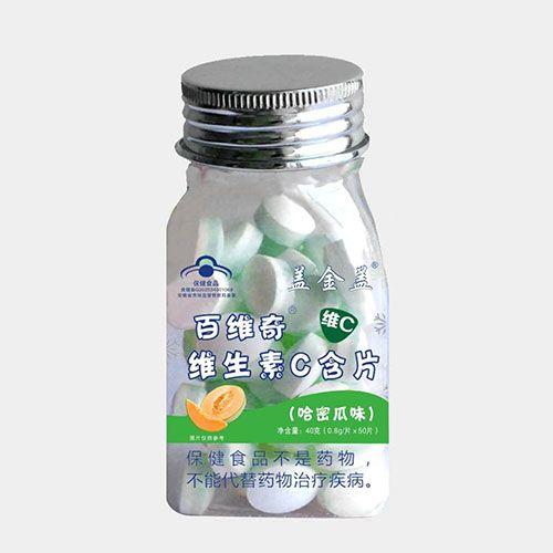 百维奇维生素C含片哈密瓜味