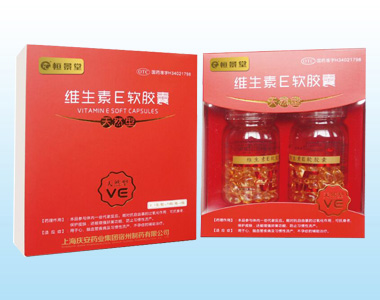 国药准字天然维生素E软胶囊150粒